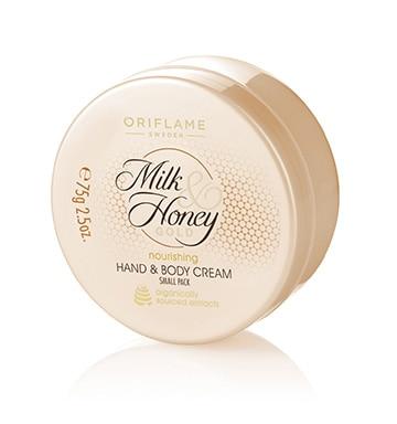 3-Oriflame Milk And Honey Moisturisng Hand Cream
