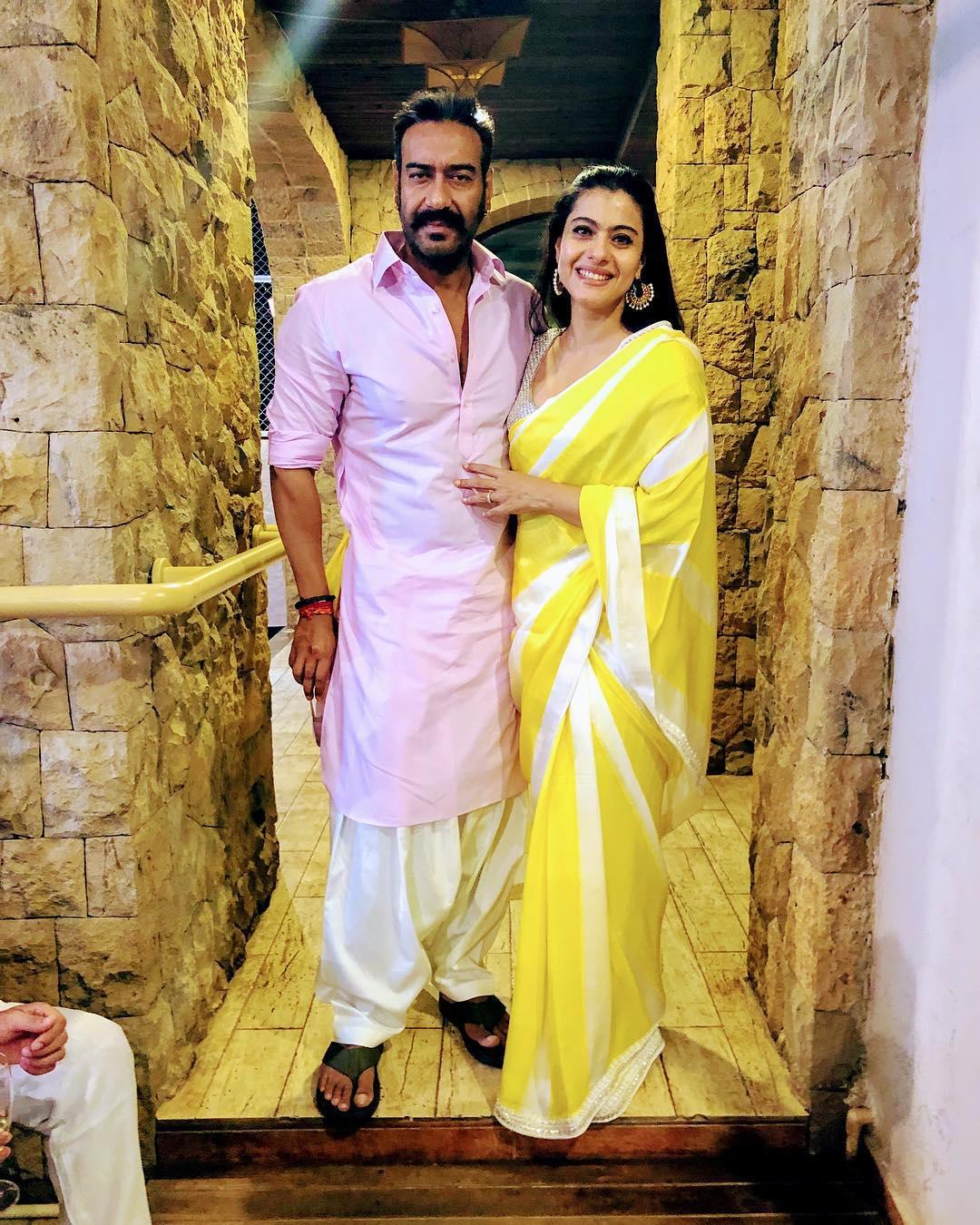 kajol and Ajay devgn home