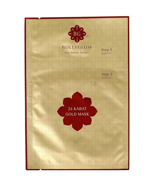 BOLLYGLOW 24 Karat Gold Sheet Face Mask