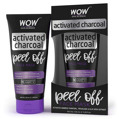 WOW Skin Science Activated Charcoal Peel Off Face Mask