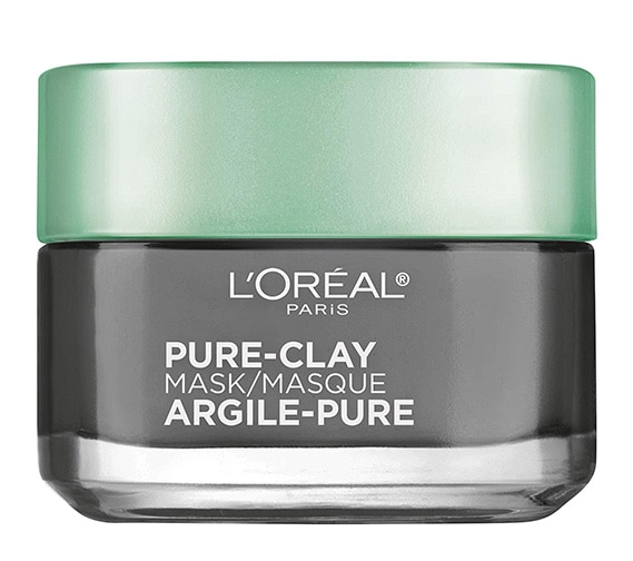 L'Oreal Paris Pure Clay Mask, Exfoliate & Refine Pores