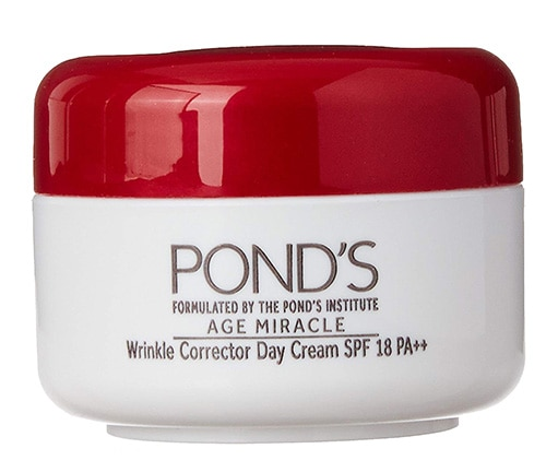 Best in Budget-Pond's Age Miracle Wrinkle Corrector SPF 18 PA++ Day Cream