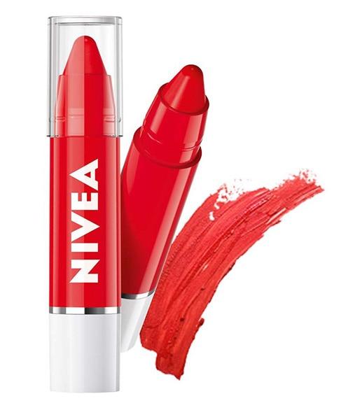 Budget Buy-NIVEA Melt In Coloron Crayon Pop Red