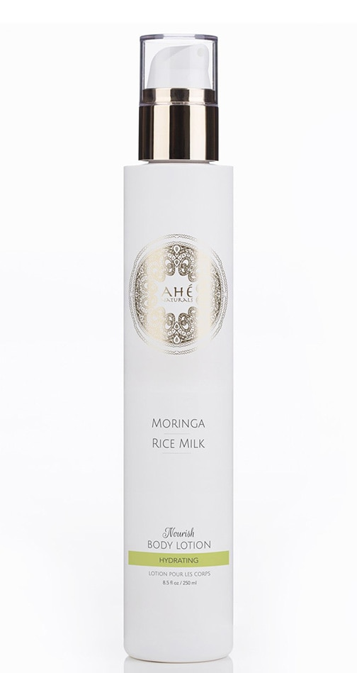 Editor's Pick-Ahé Naturals Moringa & Rice Milk Nourishing Body Lotion