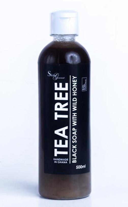 Editor's Pick-Skin Gourmet Tea Tree Black Soap With Wild Honey