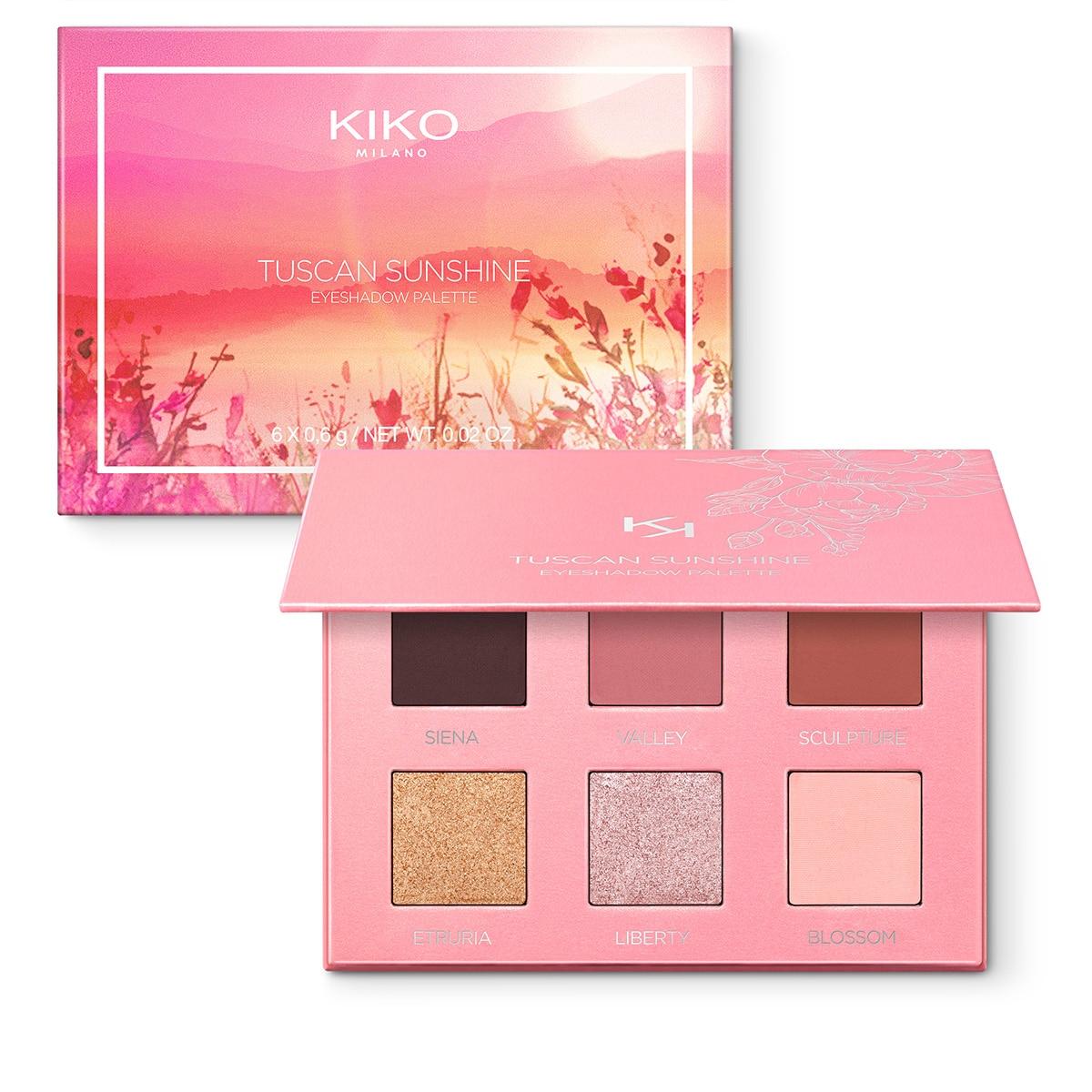 KIKO MIlano Tuscan Sunshine Eyeshadow Palette