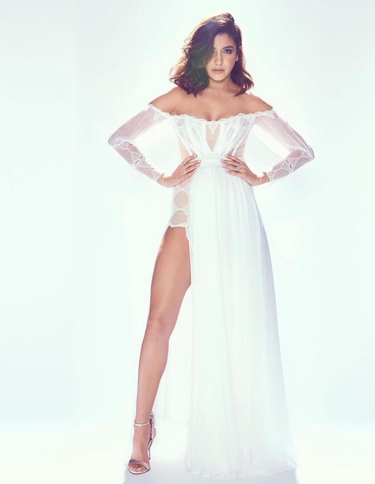 Anushka Sharma Naked Dress