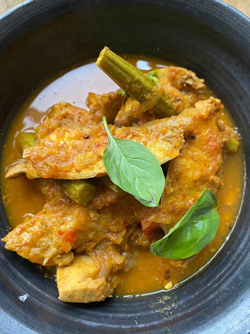 Drumstick & Fish Curry
