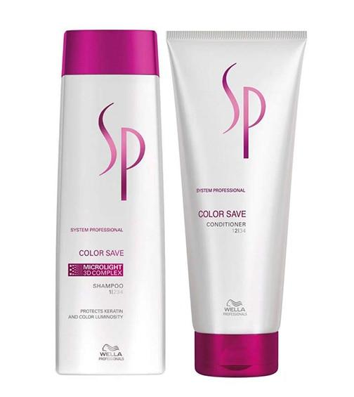 Wella Professional SP Color Save Shampoo+ Conditioner