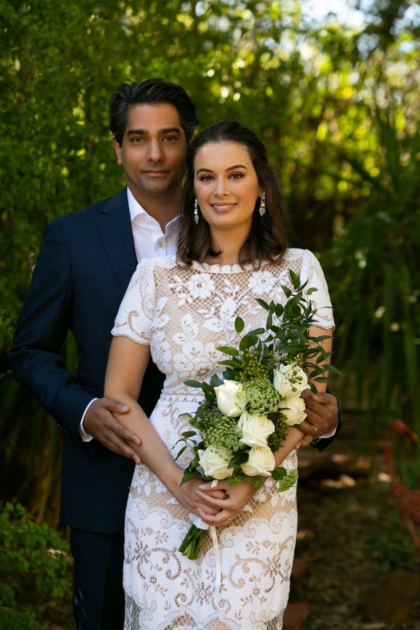 Evelyn Sharma wedding pic