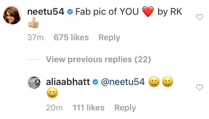 Neetu Kapoor Comment
