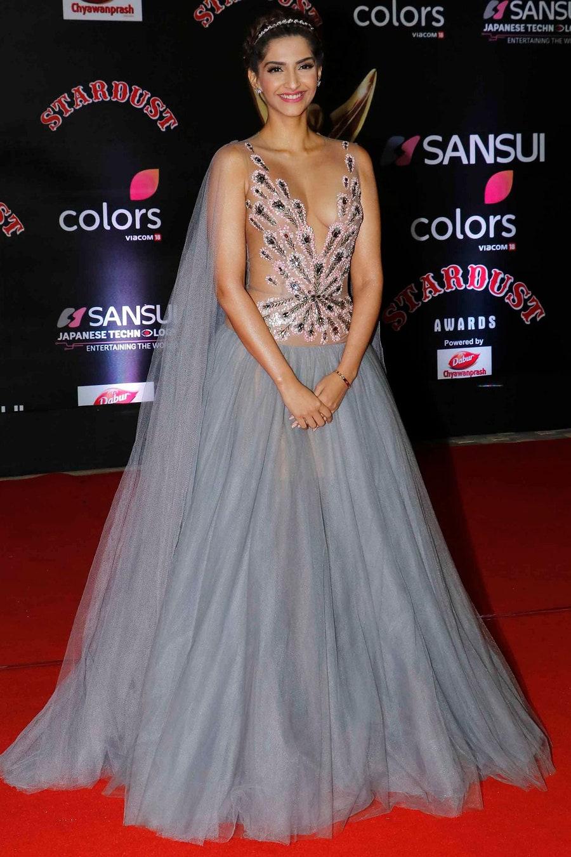 Sonam Kapoor naked dress