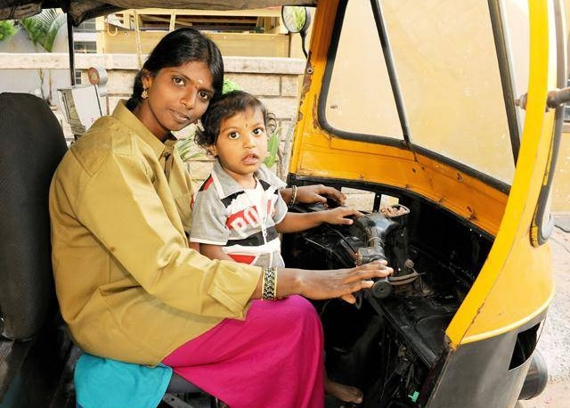 life of a single mother in india