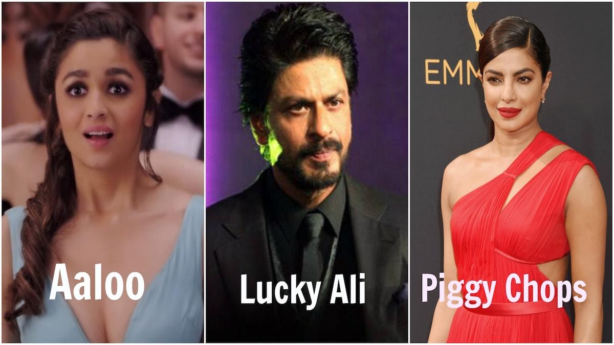 12 Bollywood Celebs and Their Weird AF Nicknames