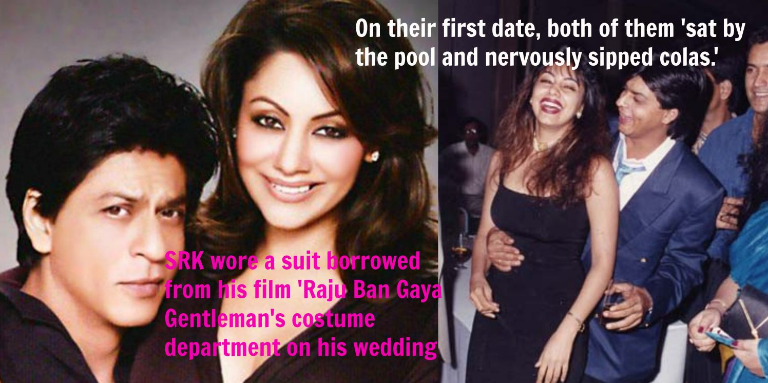 gauri khan wedding photos