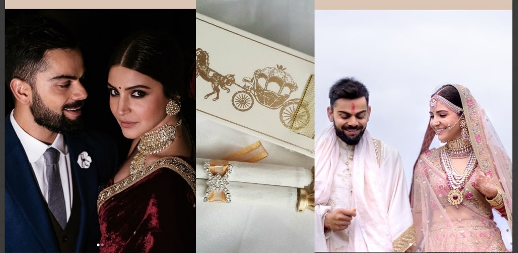 The virushka wedding reception invite has been released share stopboris Gallery