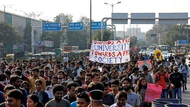 Ramesh pokhriyal, Jnu protests, Jnu fee hike, JNU