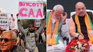 Amitshah, Narendra Modi, Caa-nrc, BJP