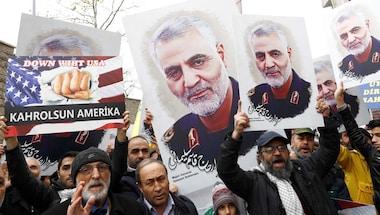 Middleeastconflict, Usaairstrike, Iran-ustussle, Soleimani