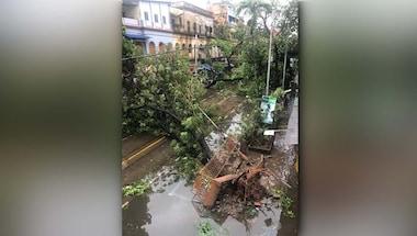 Coronavirus pandemic, West Bengal, Kolkata, Cyclone amphan