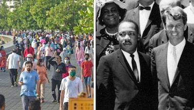 Arvind Kejriwal, Donald Trump, Serosurvey, Antibodytesting