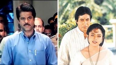 Anil Kapoor, Amitabh Bachchan, Nayak, Sooryavansham