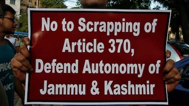 National Conference, People's democratic party, Jammu and Kashmir, Article370