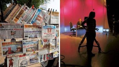 Media credibility, Newspaper, Trp, TV News