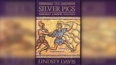 Historical crime mystery novel, Lindsey davis, The silver pigs, Dailyrecco