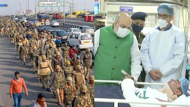 Rakesh tikait, Amit Shah, Red fort violence, Republicdayviolence