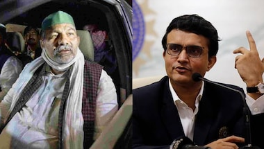 Sourav Ganguly, Deep sidhu, Rakesh tikait, Republicdayviolence
