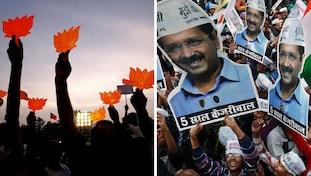 BJP, Aam Aadmi Party, Mcdelections