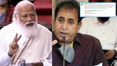 Anil deshmukh, Farm laws, Narendra Modi, Andolanjeevi