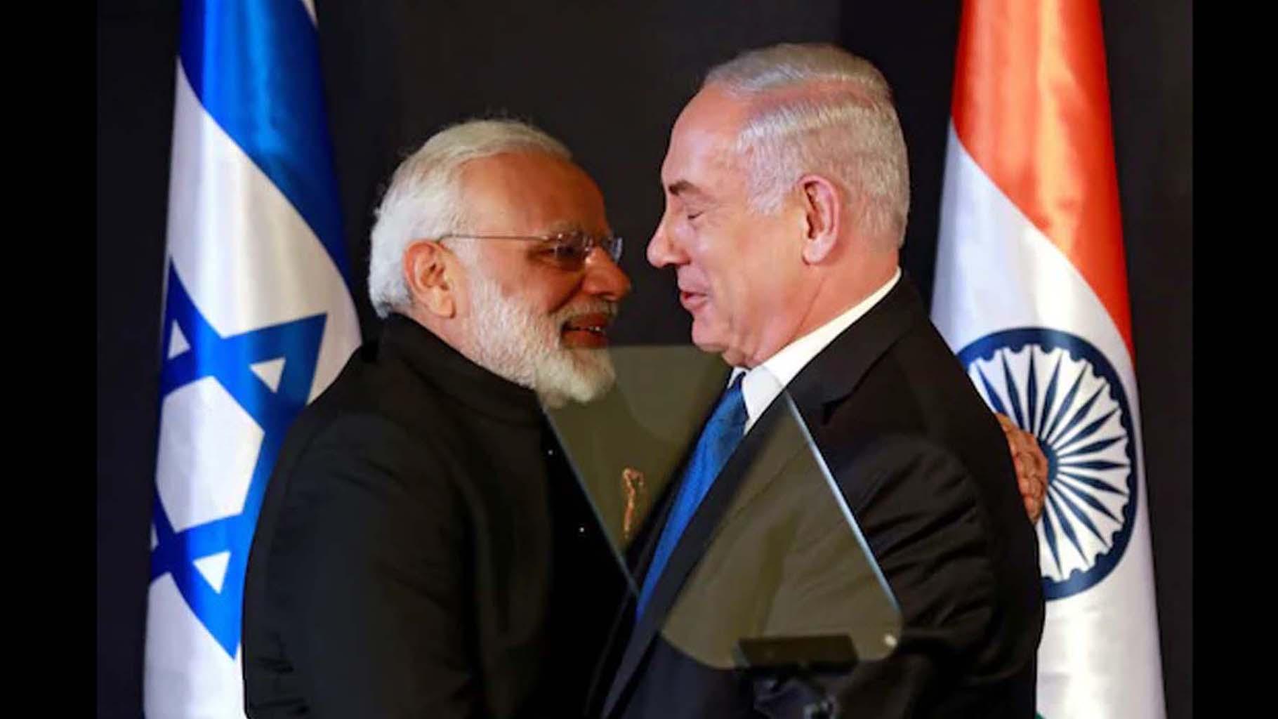 Narendra Modi, Israel-India ties, Benjamin Netanyahu, Israelpalestineconflict