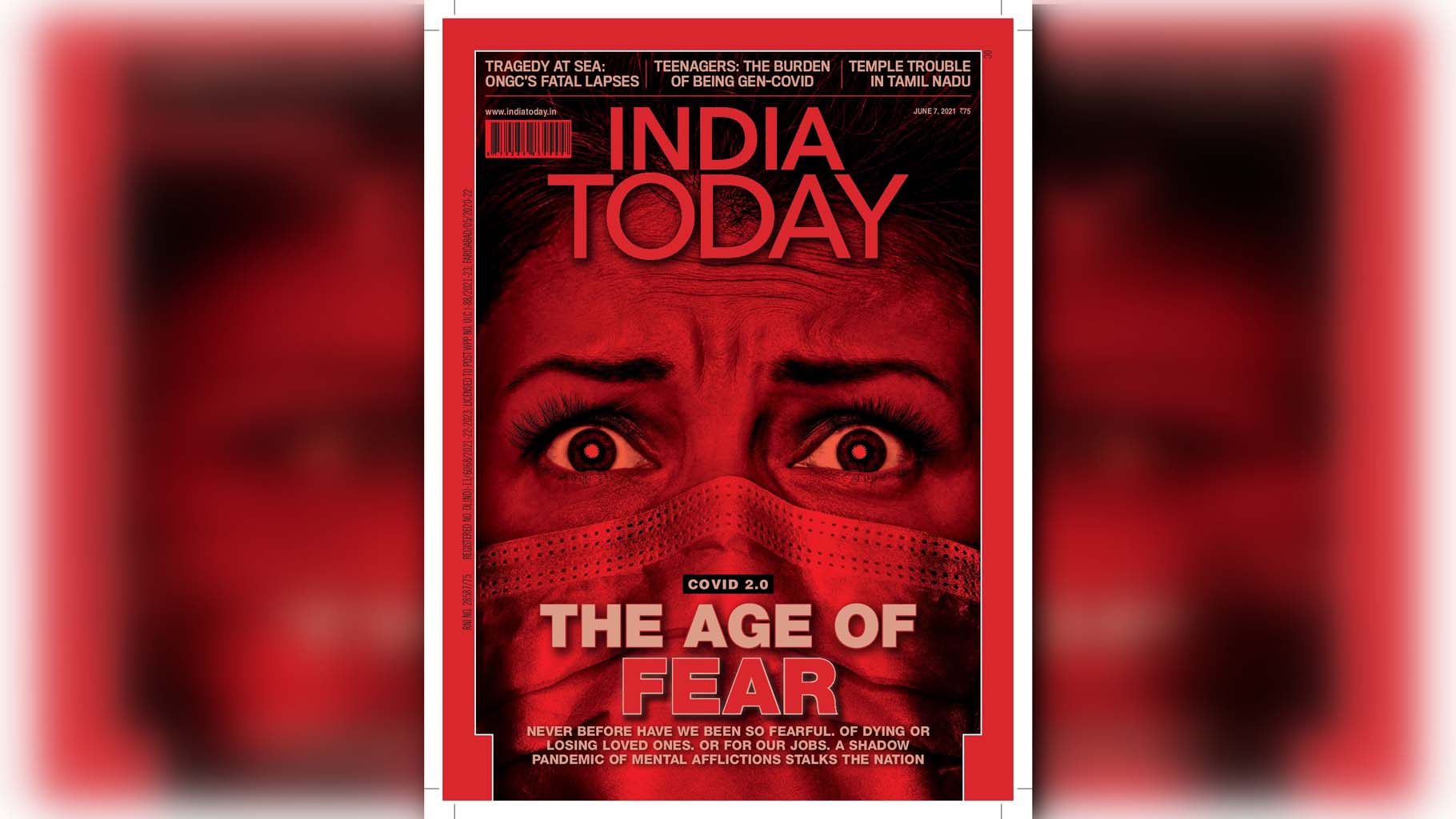 India today magazine, Covid-19 pandemic, Mental Health, Anxiety