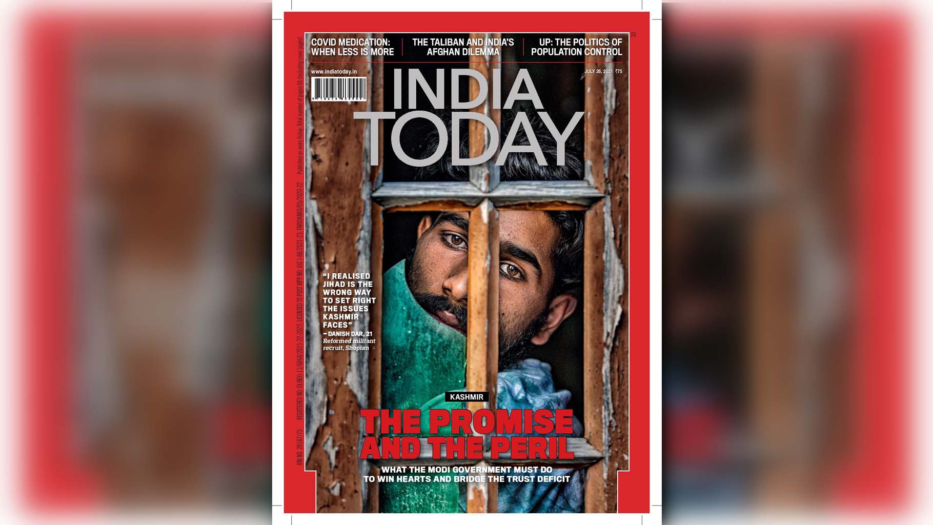India today magazine, Article 35A, Article 370, Militancy in kashmir