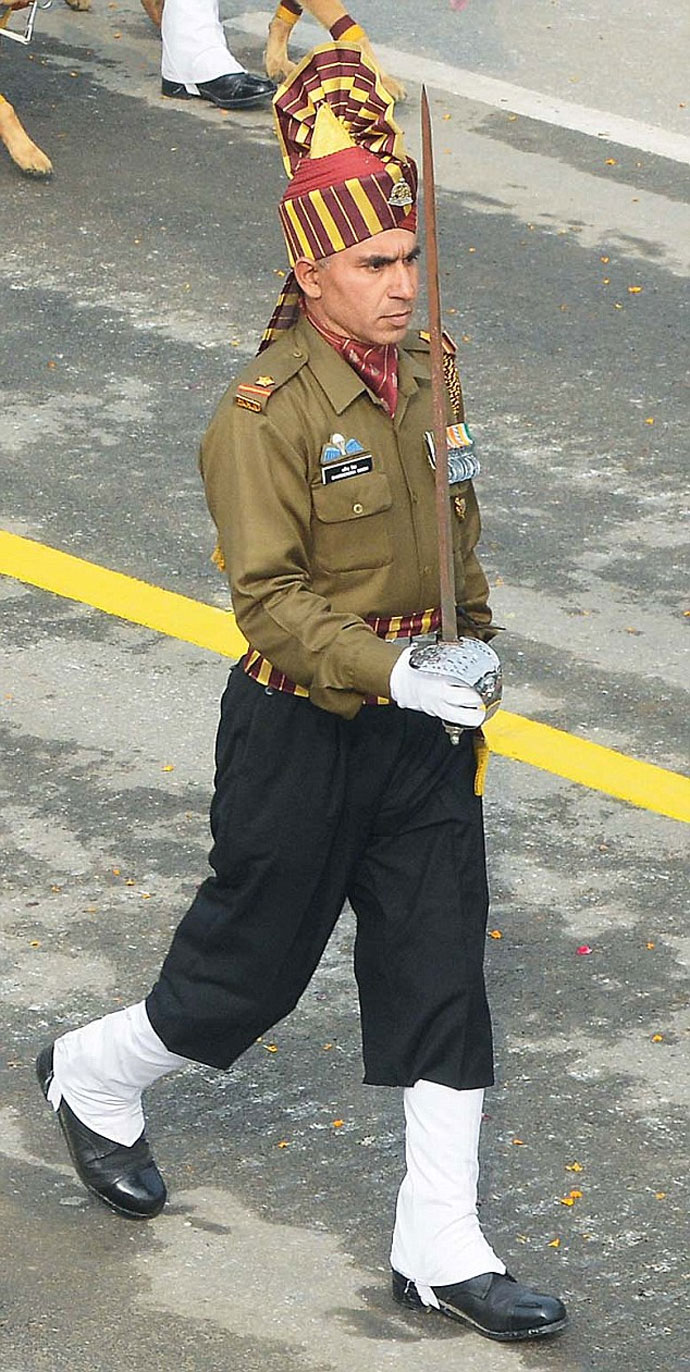 2afdf493120 How Indian military uniforms reflect India s strength and diversity