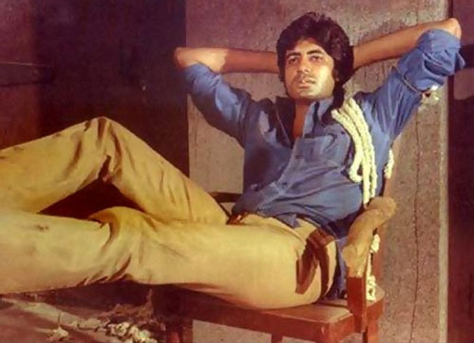 Image result for amitabh looking macho