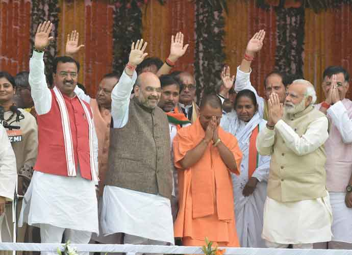 The BJP is an idea of success built around all the inferiority complexes of the middle class. Photo: PTI