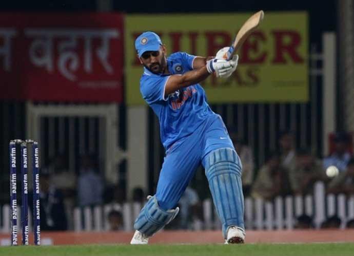 Dhoni tends to deny the strike to batsmen with lesser hitting prowess than himself. Photo: India Today