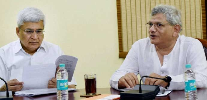 In the party's CC meet held recently, Karat made sure Yechury's proposal was not adopted.