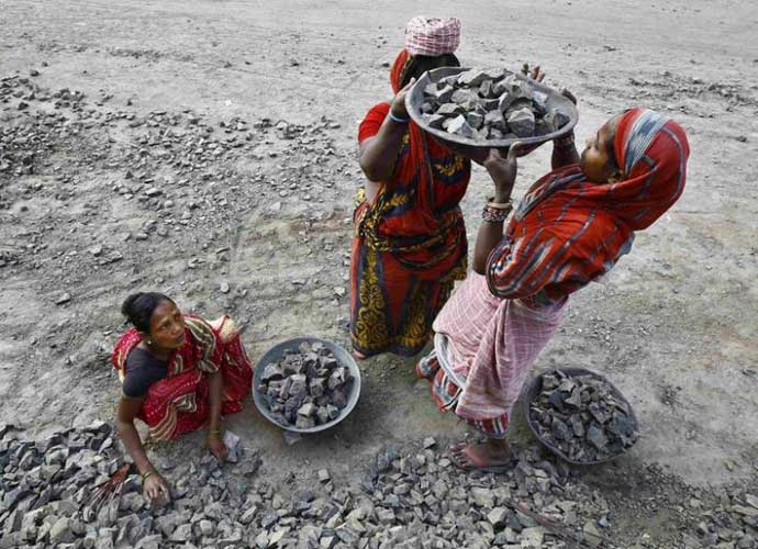 nearly 90 per cent of the country's manpower is part of the informal sector. Photo: Reuters/File
