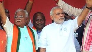 Haryana Elections, Manohar Lal Khattar, Narendra Modi