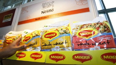 Nestle India, Maggi, Maggi ban