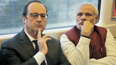Francois Hollande In India, Modi government