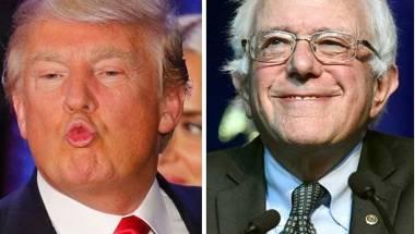 Donald Trump, Bernie Sanders, US Presidential Elections