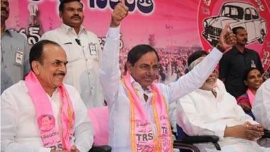 Telangana Rashtra Samithi, KTR, KCR, Greater Hyderabad municipal elections