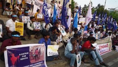 Dalits, University of Hyderabad, Rohith Vemula, HCU Crackdown