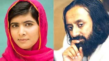 Nobel Peace Prize, Malala Yusufzai, Sri Sri Ravi Shankar
