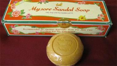 Advertisements, Mysore sandal soap